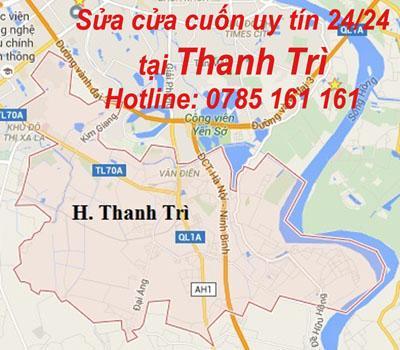 Sửa cửa cuốn uy tín tại Thanh Trì