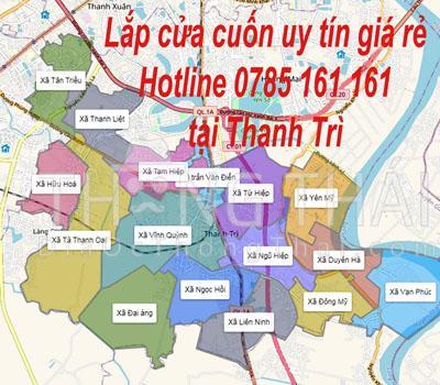 Lắp đặt cửa cuốn uy tín tại Thanh Trì