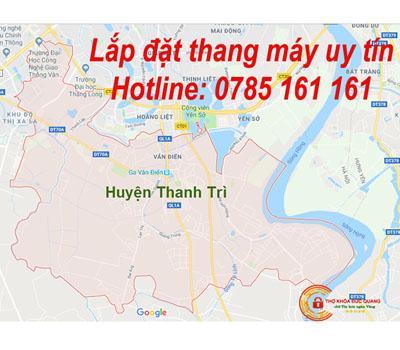 Lắp đặt thang máy uy tín tại Thanh Trì